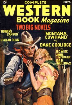 Delos Palmer pulp cover Don't mess with that Cowboy!1