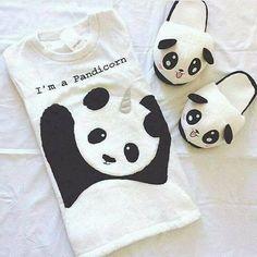Panda Love, Cute Panda, Kawaii Cute, Kawaii Anime, Diy For Kids, Gifts For Kids, Panda Outfit, Panda Decorations, Baby Animals