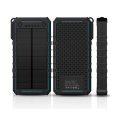 1.8w solar panel 2017 power bank portable,shockproof solar battery charger with dual usb output