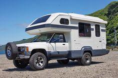 88 Toyota Hilux Global Galaxy camper – İbrahim Amaç – Join the world of pin Toyota Hilux, Toyota 4x4, Toyota Trucks, Toyota Motorhome, Toyota Camper, Mini Motorhome, Pickup Camping, Truck Bed Camping, Camping Site