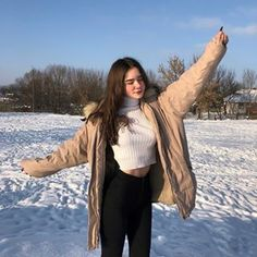 The increase of knowledge is called learning. That is the definition of economic growth, learning. It's not learning as a metaphor for something else. Snow Outfit, Western Girl, Foto Instagram, Winter Photos, Cute Beauty, Cute Friends, Foto Pose, Aesthetic Girl, Tumblr Girls