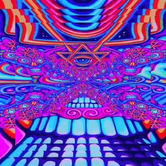 Arts And Crafts Light Fixture Trippy Gif, Trippy Drawings, Psychedelic Drawings, Trippy Wallpaper, Trippy Videos, Psychedelic Drugs, Psychedelic Pattern, Small Canvas Art, Mini Canvas Art