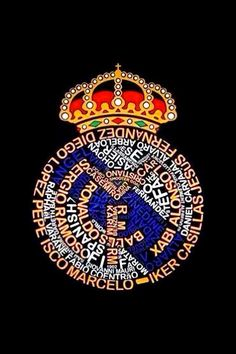 Escudo Real Madrid. nombres