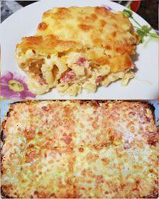 ΜΑΓΕΙΡΙΚΗ ΚΑΙ ΣΥΝΤΑΓΕΣ 2: Σουφλέ με Κοφτό μακαρονάκι !!! Lasagna, Macaroni And Cheese, Bread, Ethnic Recipes, Food, Mac And Cheese, Eten, Bakeries, Meals
