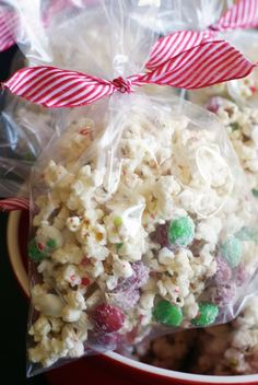 Bake at 350: Peppermint Popcorn Crunch