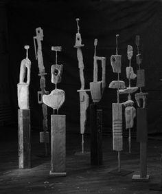 plaster sculpture by Kit Reuther Art Works, Pottery Sculpture, Artist Inspiration, Contemporary Modern Art, Plaster Sculpture, Modern Sculpture, Sculpture, Art, Figurative Artwork