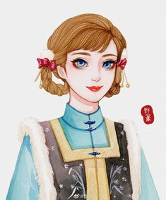 Khi các nàng công chúa Disney xuyên không đến Trung Quốc thời cổ đại Disney Fan Art, Disney Princess Art, Sailor Princess, Vintage Princess, Disney E Dreamworks, Disney Pixar, Disney Characters, Walt Disney, Tokyo Ghoul