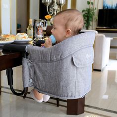 portable hook on chair baby dining chair for travel #hookonchair #babychair #babydiningchair #portablehighchair #babyhighchair #dininghighchair #fasttablechair
