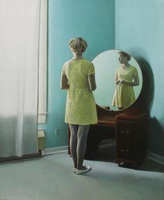 Round mirror - Shaun Downey