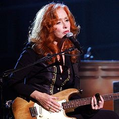 """For many years, I couldn't stand listening to my own voice,"" says Bonnie Raitt."