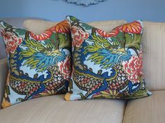 Chiang Mai pillows for family room?
