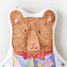 Brown Bear Rattle — The Fox in the Attic