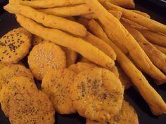 Κριτσινια καροτου Desert Recipes, Crackers, Cravings, Healthy Snacks, Carrots, Deserts, Food And Drink, Cooking Recipes, Cookies