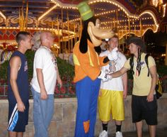 Enjoying Disney after Midnight!