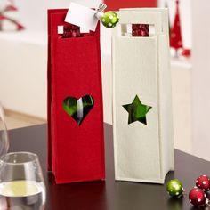 Portabottiglie natalizio