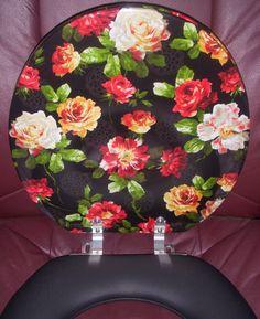 Molded Wood Rose Design Round Toilet Seat TOILETS SEATSEmejing Black Padded Toilet Seat Ideas   3D house designs   veerle us. Black Soft Toilet Seat. Home Design Ideas