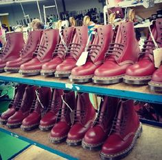 Cherry Red #drmartens #boots
