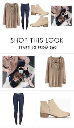 """Untitled #405"" by pandabear222 ❤ liked on Polyvore featuring Chicwish, 7 For All Mankind and Splendid"