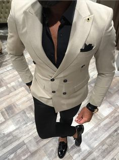 Mens Fashion Beanie is part of Blazer outfits men - Blazer Outfits Men, Mens Fashion Blazer, Mens Fashion Wear, Suit Fashion, Fashion Boots, Prom Suits For Men, Mens Casual Suits, Dress Suits For Men, Blazer For Men Wedding