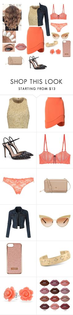 """""""Charlie (Coco) Rana"""" by racheljohnson1226 ❤ liked on Polyvore featuring Alice + Olivia, Thierry Mugler, Heidi Klum, Mimi Holliday by Damaris, Spartina 449, LE3NO, Dolce&Gabbana, Ted Baker, Rachel Rachel Roy and Bling Jewelry"""