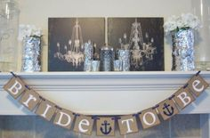 Chic Nautical Themed Bridal Shower Ideas                              …