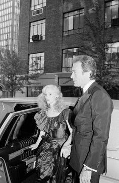 Clint and Sondra Locke.