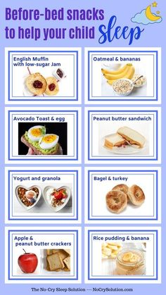 Healthy Bedtime Snacks, Healthy Snacks, Healthy Eating, Healthy Recipes, Kids Sleep, Child Sleep, Baby Sleep, Sleep Help, Low Sugar Granola
