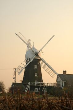 Barrowden Windmill situated about one mile from the village of Barrowden A picture of: Barrowden, Rutland
