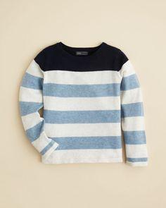 Vince Infant Boys' Color Block Stripe Sweater - Sizes 6-24 Months