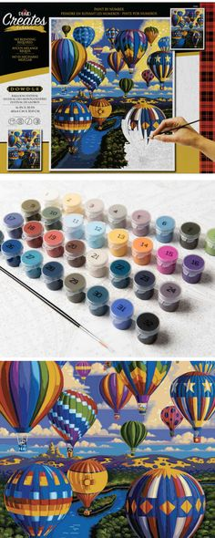 New Acrylic Paint by Numbers for Adults