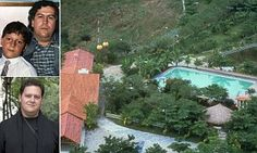 Aerial of lush estate of Pablo Escobar Gaviria, ldr. of drug cartel, known as Hacienda Napoles. Get premium, high resolution news photos at Getty Images Pablo Emilio Escobar, Pablo Escobar Son, Pablo Escobar House, Colombian Drug Lord, Manolo Escobar, Drug Cartel, The Big Boss, One Night Stands, Celebrity Houses