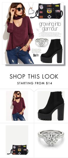 """""""SheIn VI / 20."""" by amra-sarajlic ❤ liked on Polyvore featuring Disney, Sheinside and shein"""
