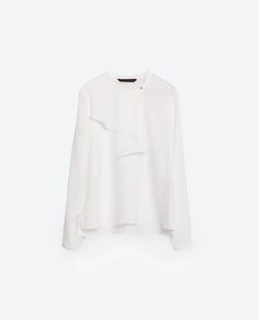 EMBROIDERED PLUMETIS BLOUSE-View All-TOPS-WOMAN | ZARA United States