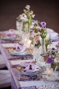 Frivolous Fabulous - Beautiful Tea Time Table Setting