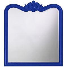 Howard Elliott Eliza Glossy Royal Blue Mirror 4079RB