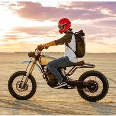 Browse a number of my most desired builds - handpicked scrambler ideas like Tracker Motorcycle, Scrambler Motorcycle, Moto Bike, Honda Scrambler, Women Motorcycle, Motorcycle Quotes, Motorcycle Helmets, Honda Dominator, Moto Design