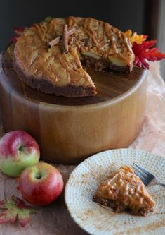 Paleo Caramel Apple Upside Down Cake (AIP) | Fed and Fulfilled Fall Dessert Recipes, Fall Desserts, Delicious Desserts, Healthy Desserts, Paleo Sweets, Paleo Dessert, Gluten Free Cakes, Gluten Free Desserts, Upside Down Apple Cake