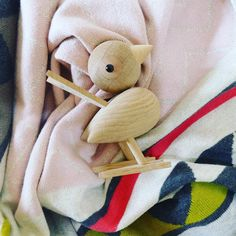 Wakey, wakey little one . Time for school 💛💛 Wooden Animals, Wooden Toys, Scandi Style, Scandinavian Design, Blankets, Objects, Blush, Cushions, Plaid