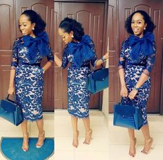 The complete pictures of latest ankara short gown styles of 2018 you've been searching for. African Lace Styles, African Print Dresses, African Print Fashion, African Fashion Dresses, African Dress, African Attire, African Wear, African Women, Chic Outfits