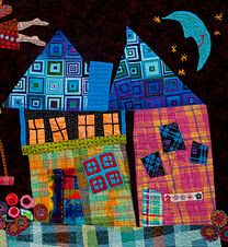 Happy Houses by Mary Lou Weidman