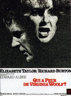 1967 Actrice second rôle Sandy DENNIS 1967 Acteur Dramatique Richard BURTON 1967 Film Dramatique Mike NICHOLS 1967 Actrice Dramatique Elisabeth TAYLOR