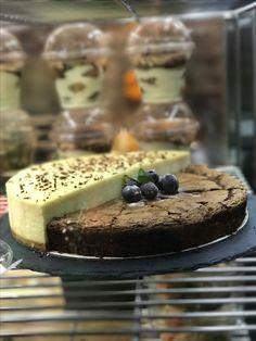 Cheese & chocolate cake