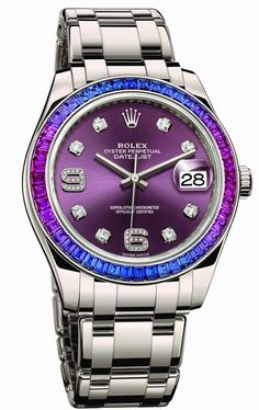 Oyster Perpetual Datejust Pearlmaster 39 86349SAFUBL de ROLEX