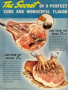 Institute :: Gallery :: Meat Curing at Home Sausage Recipes, Pork Recipes, How To Make Sausage, Sausage Making, Smoking Recipes, Old Fashioned Recipes, Smoking Meat, Venison, Vintage Recipes