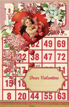 Wild@heart: Dear valentine freebie