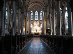 Inside view of St Francis de Sales