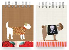Dogs in Sweaters Stationery and Gift Wrap by Ecojot - Dog Milk