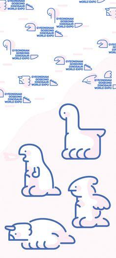 Gyeongnam High School Dinosaur Expo Rebranding Project-UI / UX · Illustration, UI / UX, Illustration, Branding / Editing, Illustration The post Gyeongnam old castle dinosaur expo rebranding project-ui / ux appeared first on Design. Kids Graphic Design, Graphic Design Inspiration, Brand Identity Design, Logo Design, Ci Design, Wordpress Theme, Typographie Logo, Mascot Design, Kids Poster