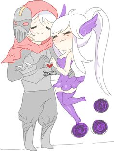 Zed and Syndra
