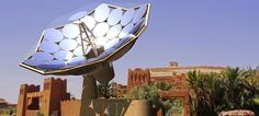 This device uses solar to provide energy and warm water to communities that are off the grid.